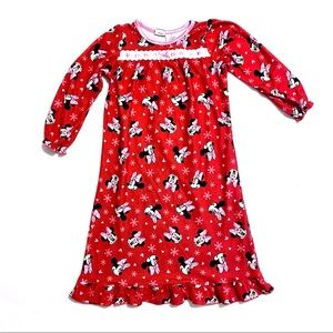 Disney Minnie Mouse girl's nightgown size 5T